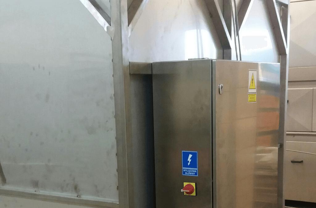 Sterowanie myjni przemysłowej